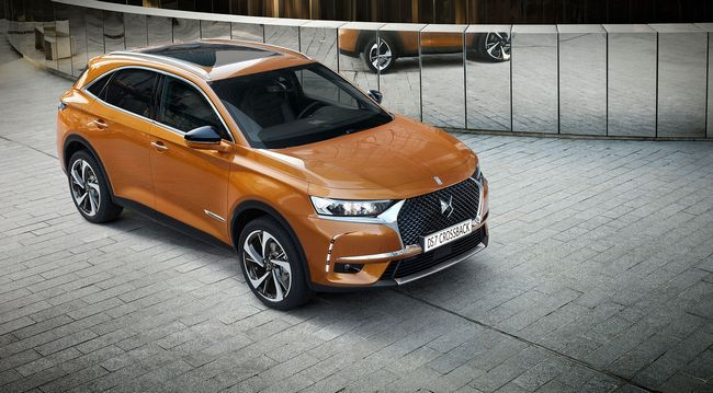 Nuovo DS7 Crossback 2017