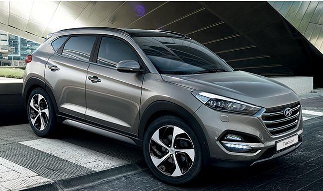 Nuovo suv Hyundai Tucson