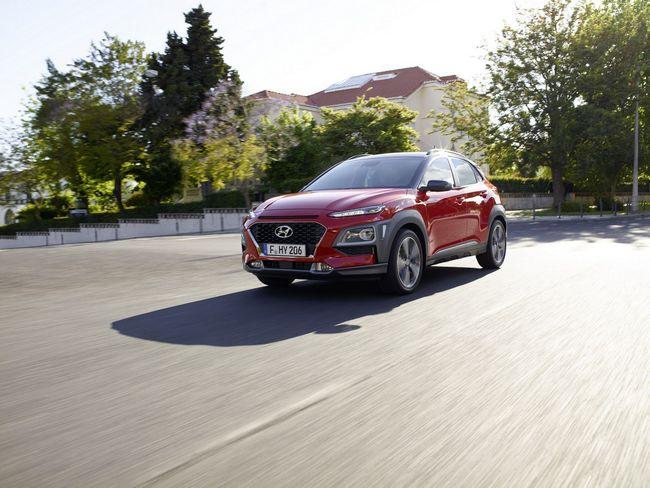 Nuovo crossover compatto Hyundai Kona 2018