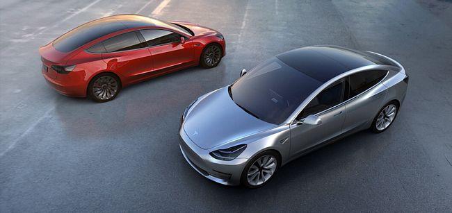 Nuova Tesla Model 3 2018