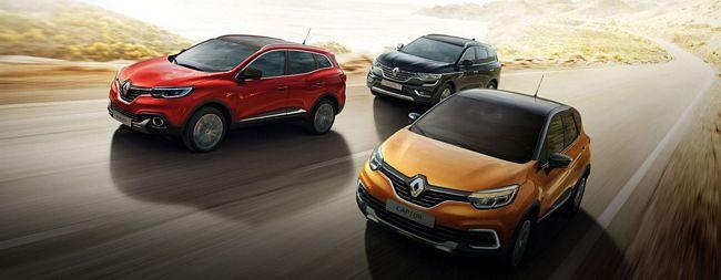 gamma suv e crossover Renault