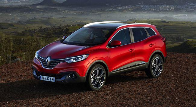 Nuovo crossover  compatto Renault Kadjar 2018