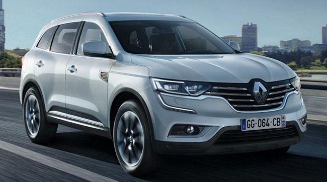 Nuovo suv Renault Koleos 2018