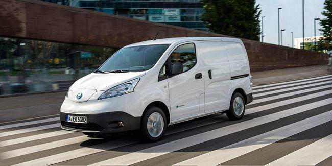 furgone elettrico Nissan e-NV200