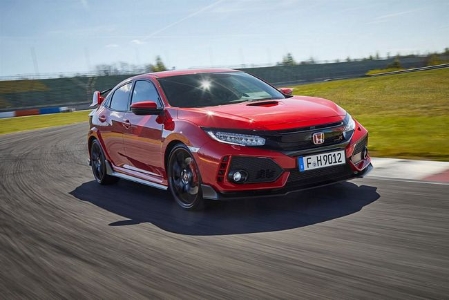 Nuova Honda Civic Type R 2018