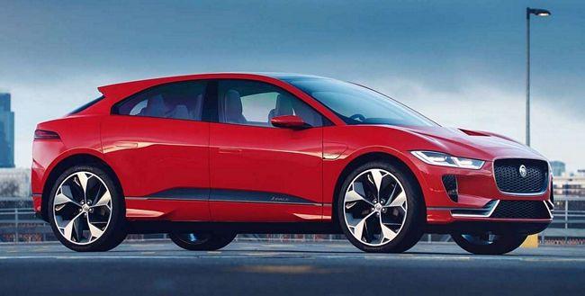 Nuova Jaguar I-Pace 2018 elettrica