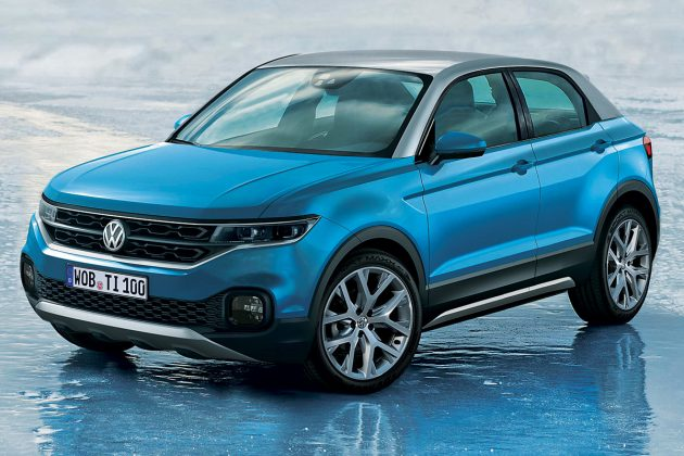 Nuovo mini crossover Volkswagen T-Cross 2018