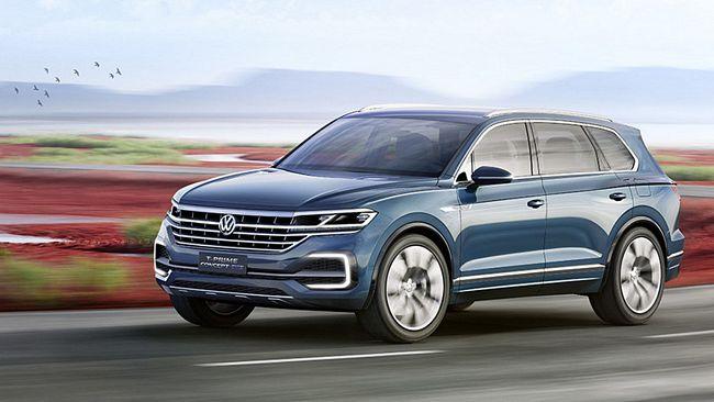 Nuovo suv 4x4 Volkswagen Touareg 2018
