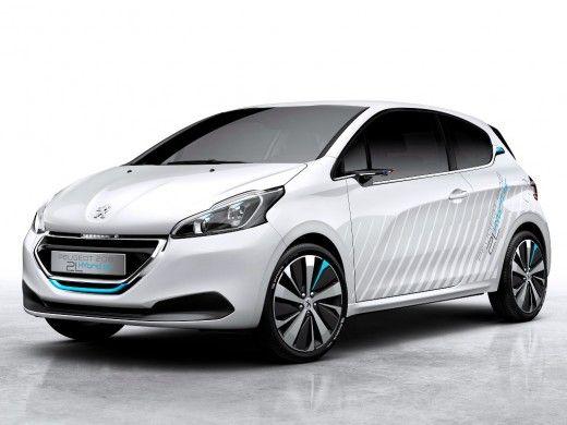 Nuova Peugeot 208 ibrida ad aria compressa
