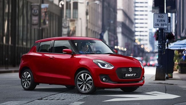 Nuova suzuki swift ibrida 2018