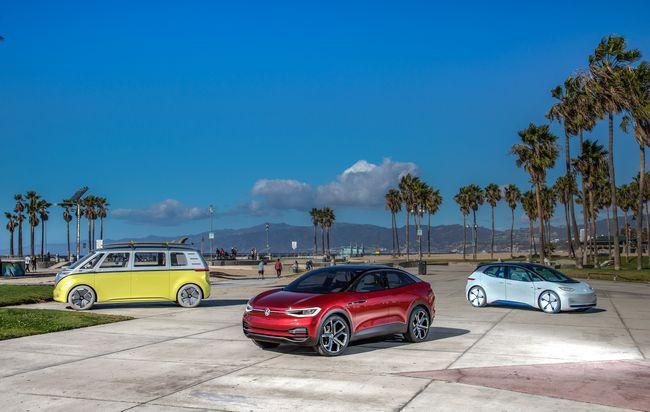 auto elettriche Volkswagen, nuovi modelli