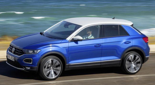 Nuovo suv compatto Volkswagen T-Roc 2018