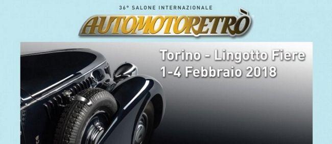 Automotoretrò 2018, il salone delle auto storiche di Torino