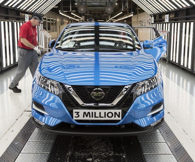 Nissan Qashqai numero 3 milioni
