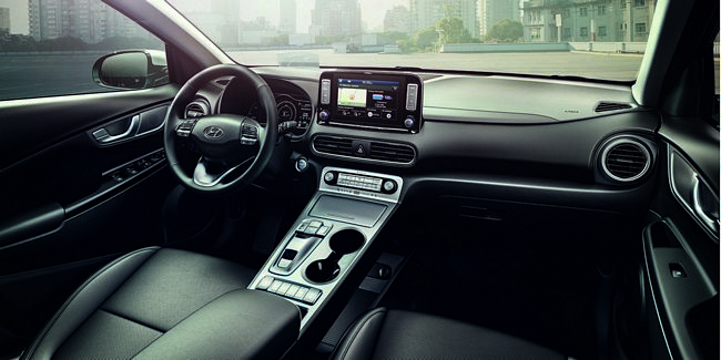 Interni Nuova Hyundai Kona Elettrica 2018