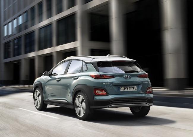 Nuovo crossover elettrico Hyundai Kona