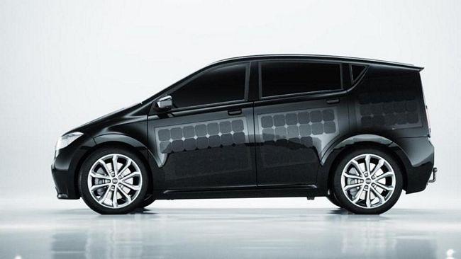 Sion Motor, l'auto elettrica con pannelli fotovoltaici