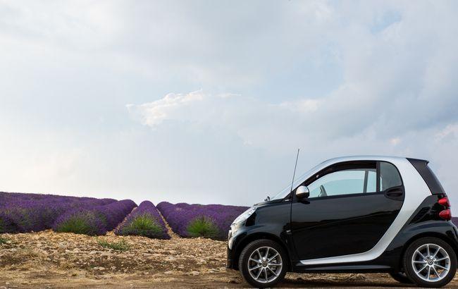 La smart è tra i modelli più scelti con il noleggio auto a lungo termine