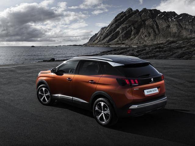 Nuovo crossover compatto Peugeot 3008