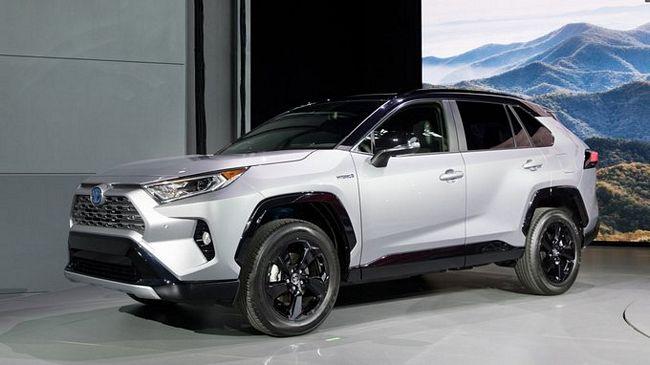 Nuovo suv Toyota Rav4 2019