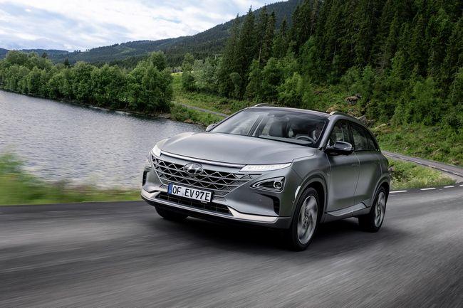 nuovo suv a idrogeno Hyundai Nexo 2019