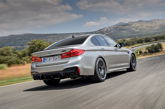 nuova BMW M5 Competition 2019