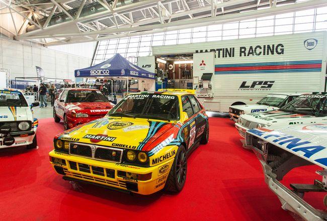 Lancia Delta in esposizione al Salone Automotoracing 2019 di Torino
