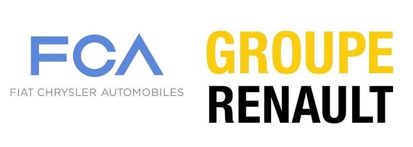 Marchi FCA e Renault