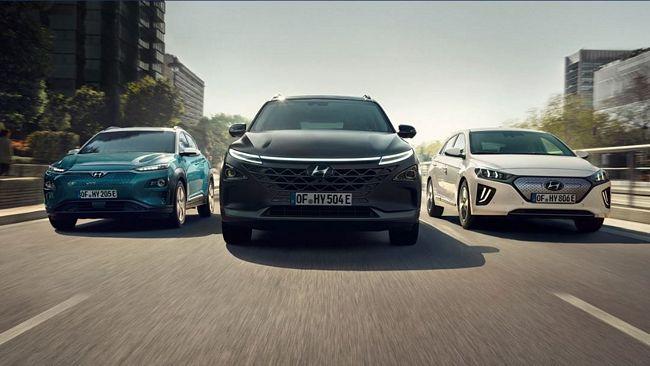 gamma modelli Hyundai ecologici