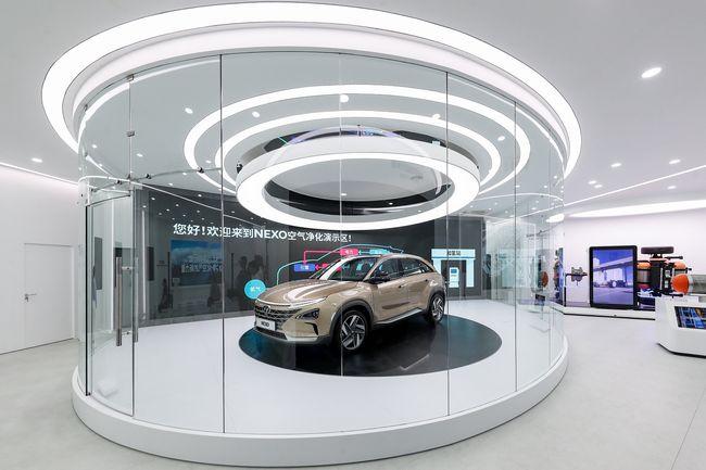 Nuovo suv a idrogeno Hyundai Nexo 2020