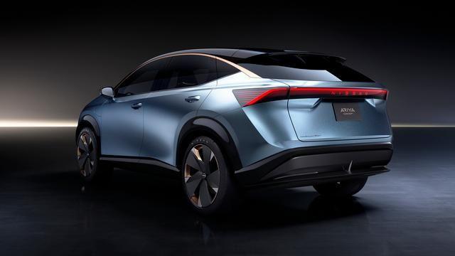 Crossover elettrico Nissan Ariya Concept