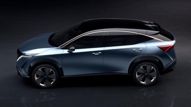 Suv elettrico Nissan Ariya Concept