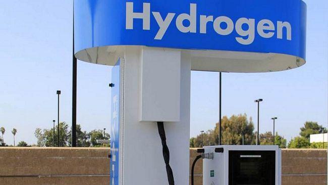 Distributore di idrogeno per auto
