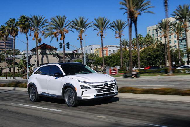 Nuovo Hyundai Nexo Fuel Cell a idrogeno
