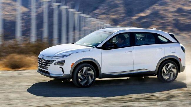 Il suv Hyundai Nexo a idrogeno