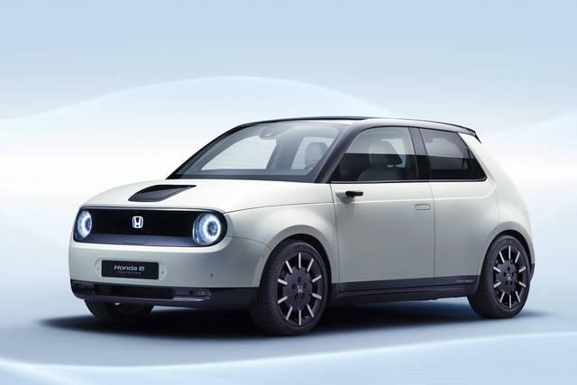 Nuova citycar elettrica Honda e 2020