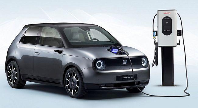 Nuova City car elettrica Honda e 2020