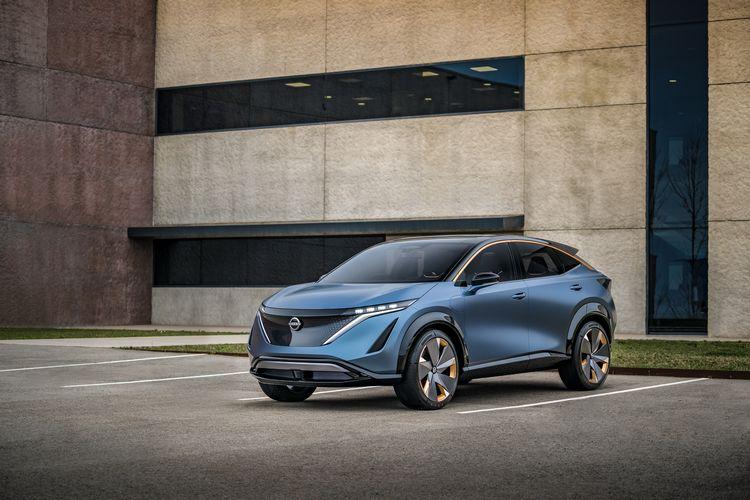 nuovo crossover elettrico Nissan Ariya Concept