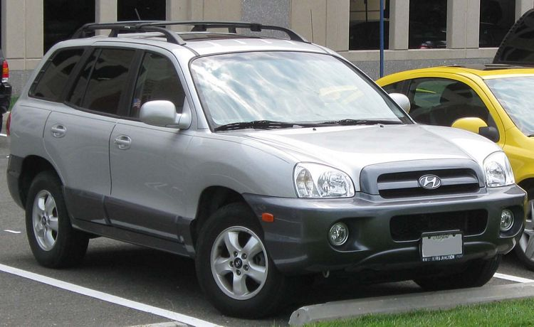 Suv Hyundai Santa Fe, prima generazione