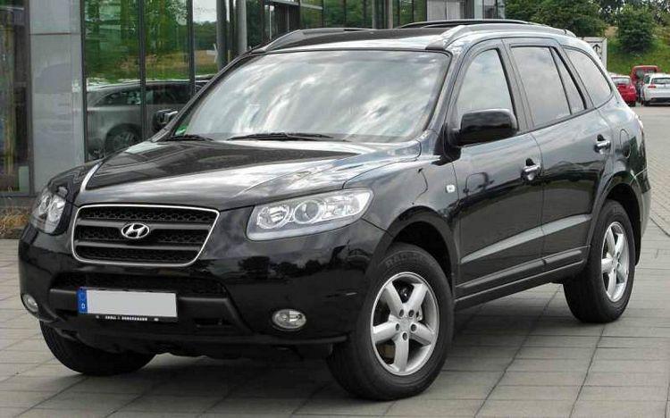 Suv Hyundai Santa Fe, seconda generazione