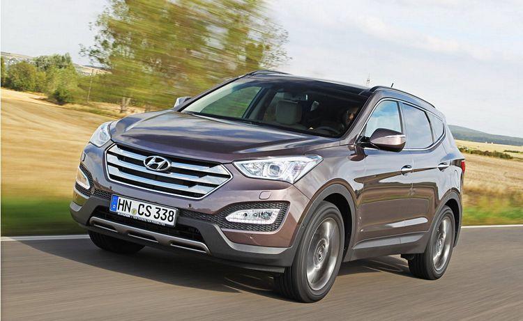 Suv Hyundai Santa Fe terza generazione