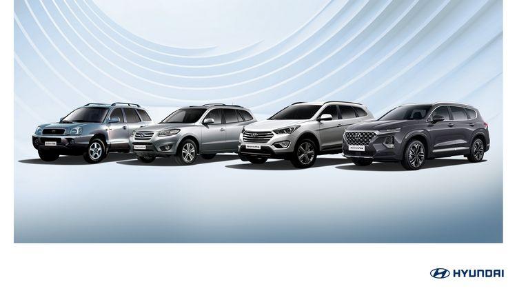 Tutte le generazioni del suv Hyundai Santa Fe