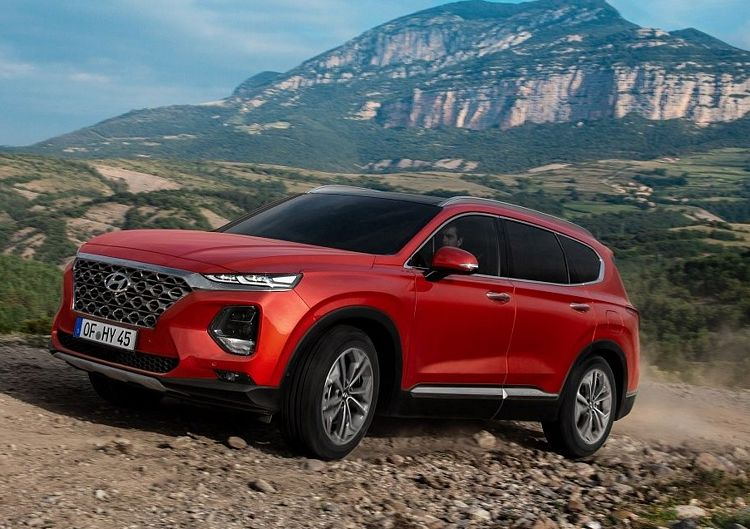 Nuovo suv Hyundai Santa Fe