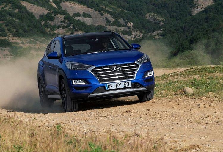 Nuovo suv compatto Hyundai Tucson