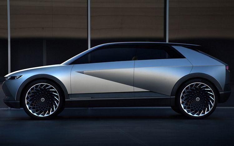 La Hyundai 45 EV Concept che anticipa un crossover elettrico di serie in arrivo nel 2021