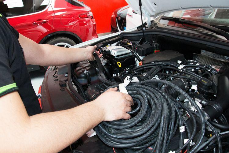 Montaggio impianto a metano su auto a gasolio