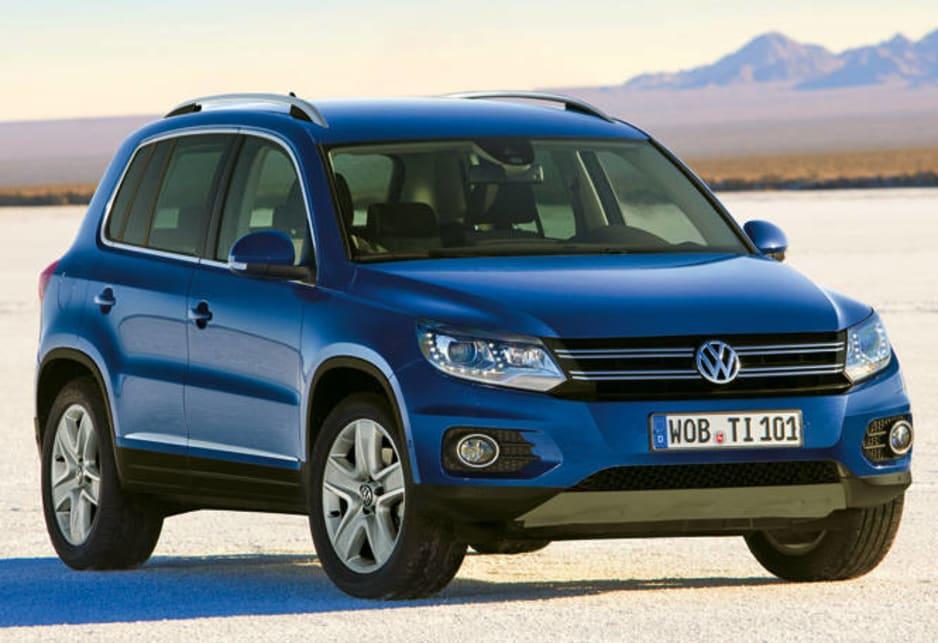 Volkswagen Tiguan - Restyling della prima generazione