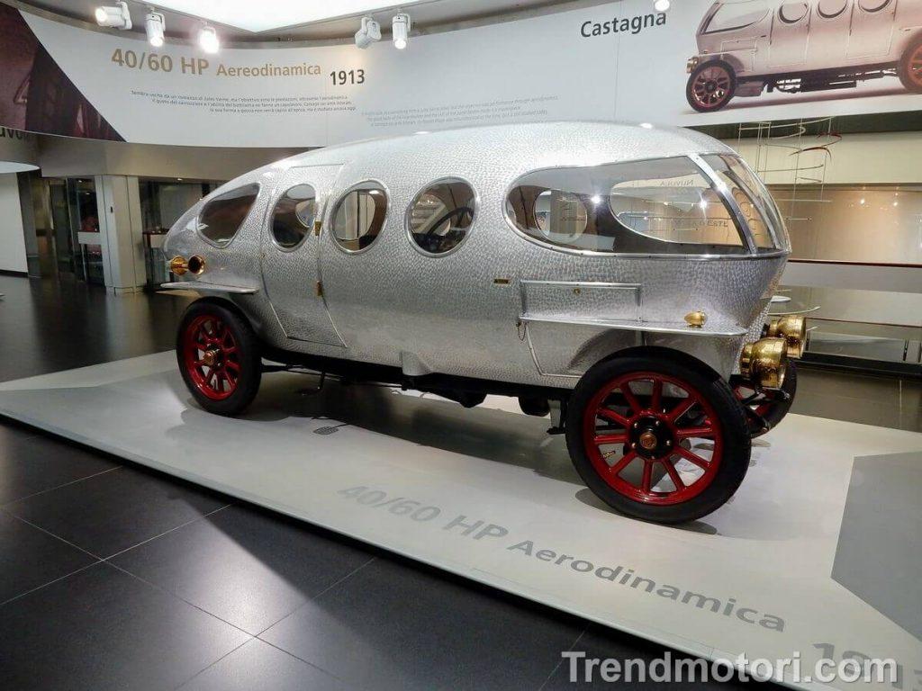 Prototipo Alfa Romeo 40/60 HP Aerodinamica