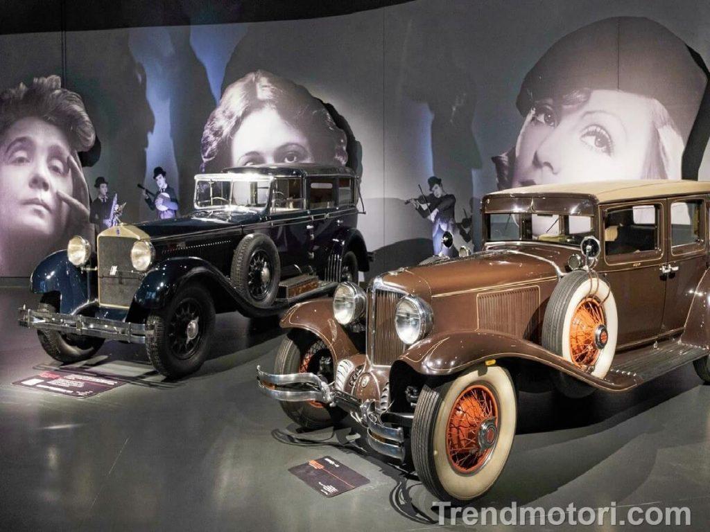 Auto d'epoca in mostra al Museo dell'Auto di Torino
