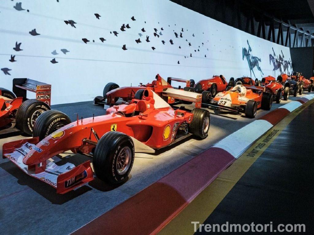 Ferrari da F1 in esposizione al Museo dell'Automobile di Torino